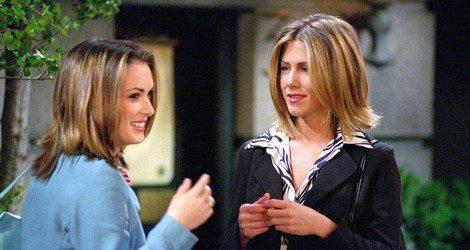 Jennifer Aniston en uno de los episodios de la serie 'Friends'