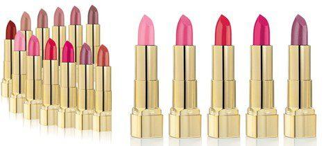Algunos labiales de la colección 'Soft & Care Lipstick' de Astor