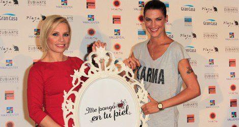 Laura Sánchez y Soraya Arnelas en la campaña 'Me pongo en tu piel'