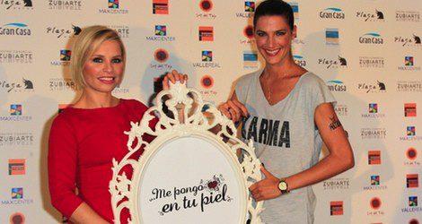 Soraya Arnelas y Laura Sánchez, madrinas de la campaña 'Me pongo en tu piel'