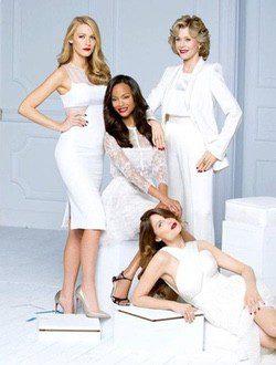 Las cinco actrices posan para L'Oréal