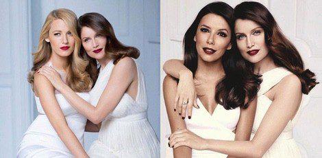 Blake Lively, Laetitia Casta y Eva Longoria posan para L'Oréal