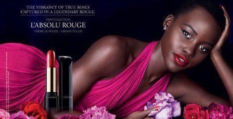 Lupita Nyong'o protagoniza la nueva campaña de Lancôme