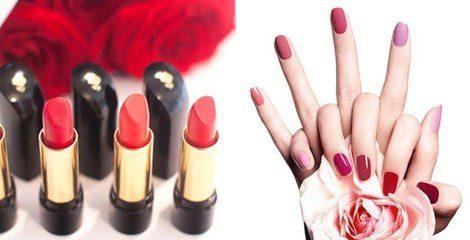Barras de labios y esmaltes de uñas de la línea 'L'Absolu' de Lancôme