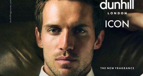 El modelo británico Andrew Cooper se convierte en la imagen del nuevo perfume de Dunhill Icon