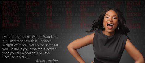 Jennifer Hudson cuenta en su libro como perdió 10 tallas con 'Weight Watchers'