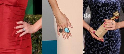 Las uñas de Reese Whiterspoon, Heidi Klum y Michelle Williams en los Globos de Oro 2012