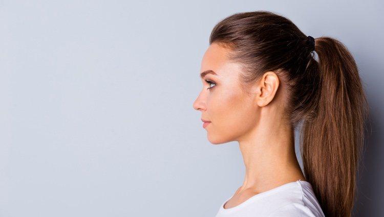 Muchos peinados protegen de agenes como la nieve o el viento