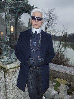 Karl Lagerfeld, el gran diseñador de la casa Chanel, presenta sus dos nuevas fragancias