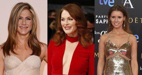 Julianne Moore, Jennifer Aniston y Manuela Vellés, amantes del pelo suelto