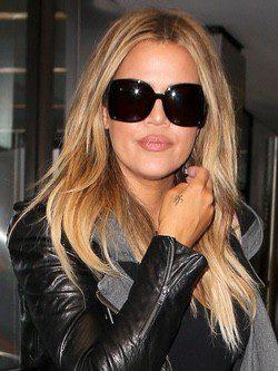 Khloe Kardashian cambia las californianas por el rubio
