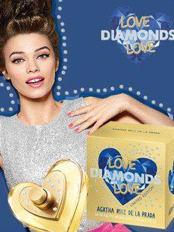 La diseñadora Ágatha Ruiz de la Prada presenta su nuevo perfume 'Love Diamonsds Love'