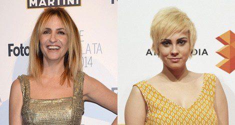 Las actrices Melani Olivares y Alba García también apuestan por el rubio