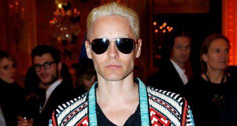 Jared Leto teñido de rubio por su papel de Joker