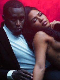 P Diddy y Cassie, semidesnuda, en el spot de la fragancia 3AM