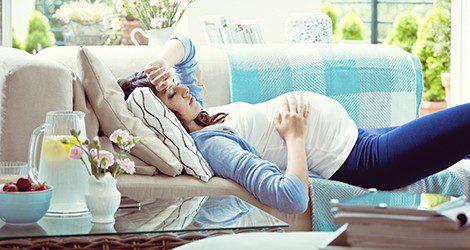 Más de la mitad de las mujeres embarazadas sufren retenciones de líquidos, sobre todo en el tercer trimestre