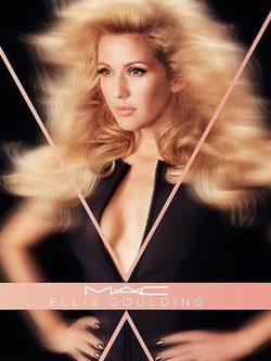 La creatividad de Ellie Goulding queda plasmada en su nueva colección make up para MAC