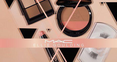 Los rosas y nude serán los protagonistas de la nueva colaboración entre MAC y Ellie Goulding