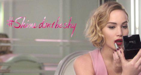 Jennifer Lawrence protagoniza la campaña de la nueva colección de labiales de Dior