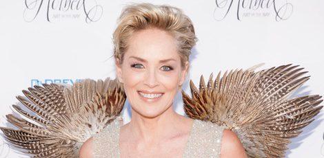 Sharon Stone, una angelita de Victoria's Secret