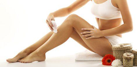 Las rodillas son una zona muy complicada para depilar