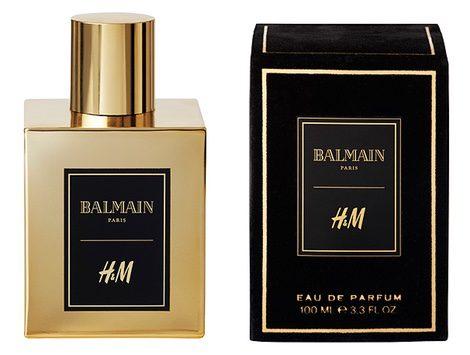 Perfume de H&M y Balmain
