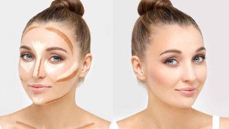 El maquillaje hace maravillas