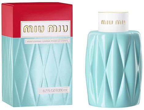 Crema corporal de Miu Miu