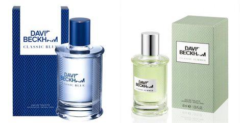 Perfumes 'Classic Blue' y 'Classic Summer'