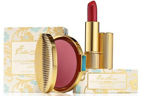 Un labial y un blush de estilo vintage componen la colección de Estée Lauder