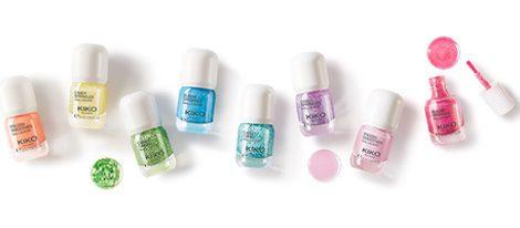 Los diferentes colores de 'Candy Nails', la nueva colección de esmaltes de Kiko