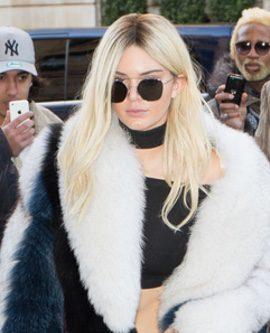 Kendall Jenner rubia para Balmain