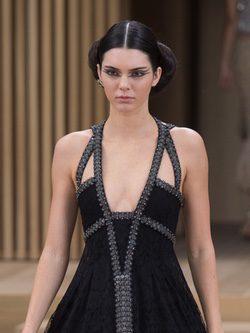 Kendall Jenner para desfile de Chanel