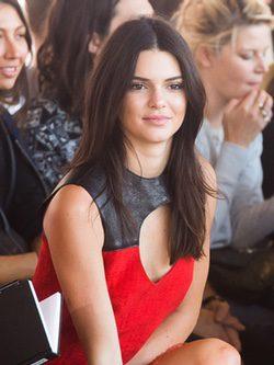 Kendall Jenner con melena suelta