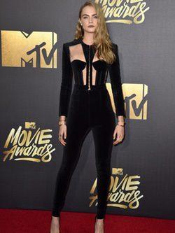 Cara Delevingne en los Music Awards