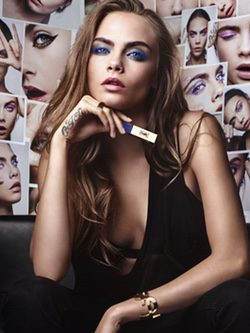 Cara Delevigne campaña Vinil Couture