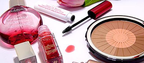 Productos de la nueva línea de maquillaje de Clarins para el verano 2016