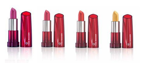 Nueva colección de barra de labios de Yves Rocher