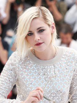 El rubio platino de Kristen Stewart