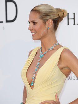 Heidi Klum hasta el moño