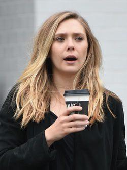 Elizabeth Olsen con ojeras