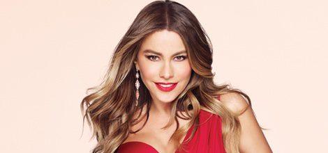 Sofia Vergara en la campaña del perfume