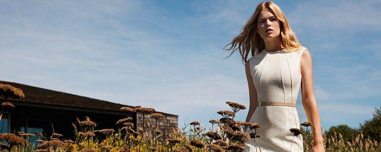 Anna Ewers en la campaña publicitaria para Hugo Boss