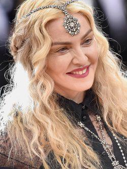 Madonna en la gala del Met