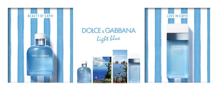 'Beauty of Capri' y 'Love in Capri' de Dolce & Gabbana