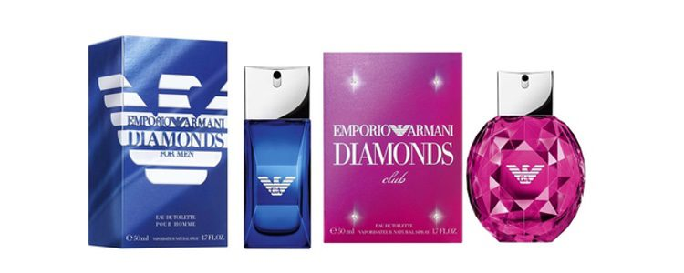 'Emporio Armani Diamonds Club for Him' y 'Emporio Armani Diamonds Club'