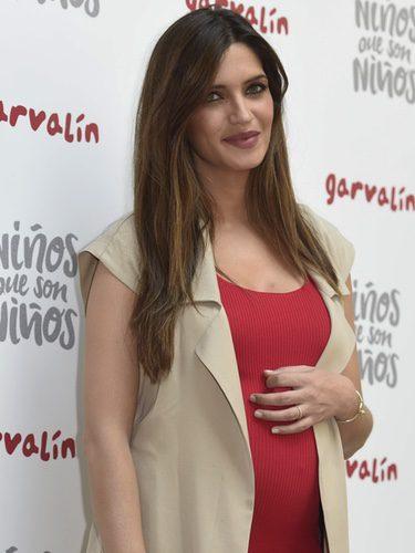 Sara Carbonero con el cabello suelto