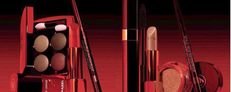Algunos productos de la línea de otoño 'Le Rouge No.1 Fall 2016 Collection' de Chanel
