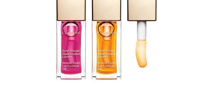 Aceites labiales 'Huile Confort Lèvres' de Clarins