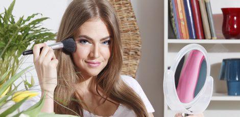 Usa bronceador para lucir mejor tu make up